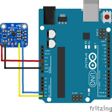 code arduino uno arduino and a mma8451 accelerometer arduino projects