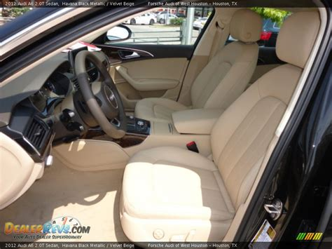 velvet car interior velvet beige interior 2012 audi a6 2 0t sedan photo 6
