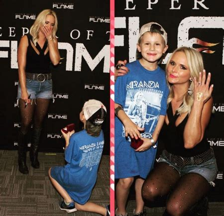 blake shelton fan club meet and greet miranda lambert says yes to marriage proposal axs