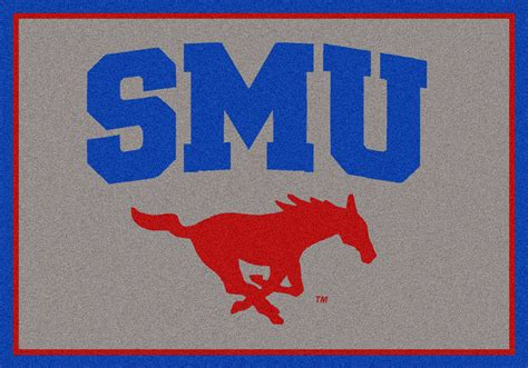 Team Rugs by Milliken College Spirit 79800 Southern Methodist Team Area Rug