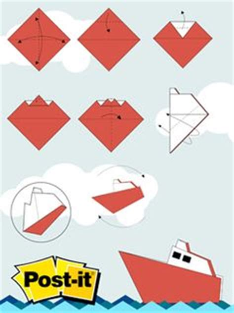 Origami Post It - origami y papiroflexia on origami portal and news