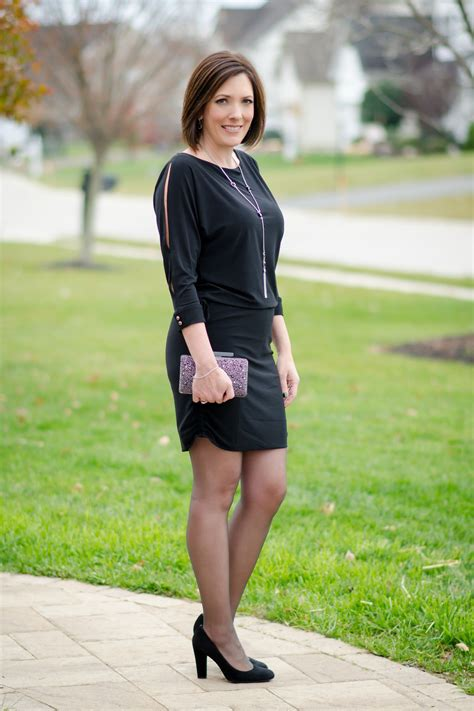 Hosiery For A Semi Formal by What To Wear To An Office