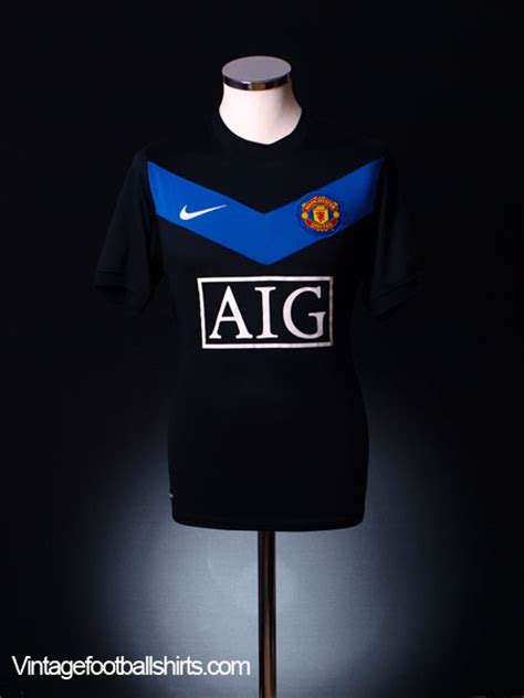 Utd Away 2009 10 Size S Bnwt 2009 10 manchester united away shirt 8 l for sale