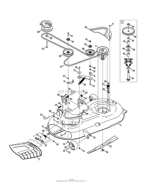 mtd mower deck diagram mtd 17akcacs099 247 204111 z6000 2015 parts diagram