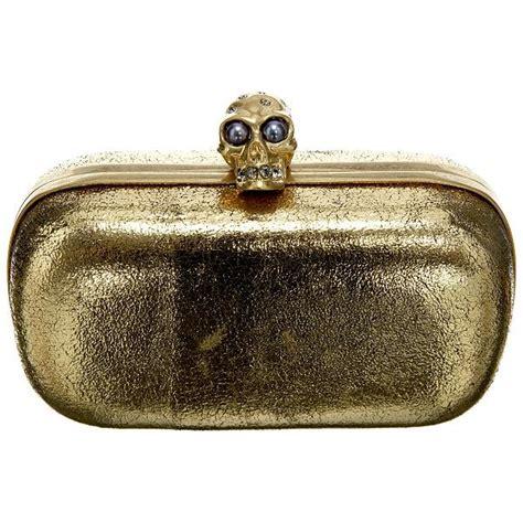 clutch alexanders mcqueen mcqueen ornate skull detail clutch all handbag