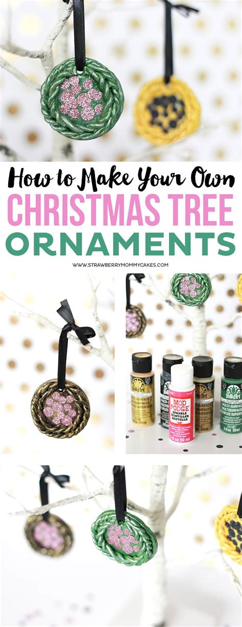 how to make your own christmas tree ornaments printable