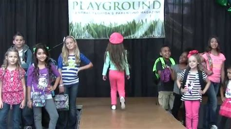 themes for college fashion show playground magazine back to school kids fashion show youtube