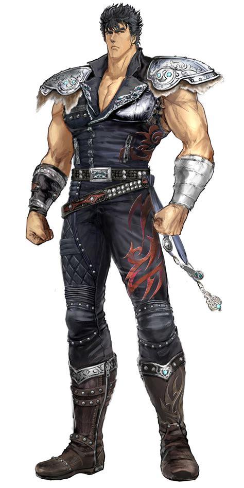 kenshiro art fist   north star kens rage  art