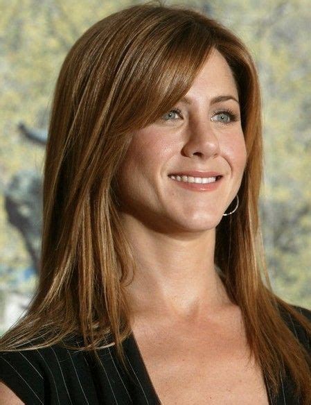 hairstyles with blended bangs 17 best images about hair on pinterest jennifer aniston