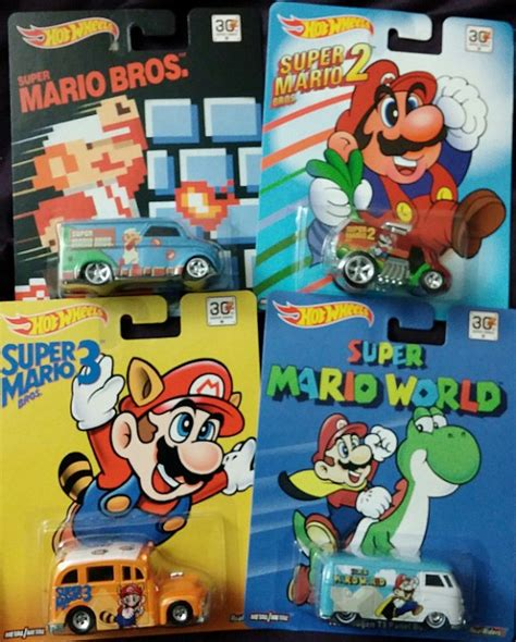Hotwheels Mario Bros Mario post 171 mario bros wheels are a 1up for nintendo and mattel 187 in brand power