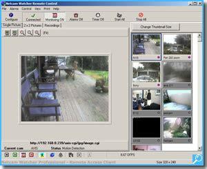 ip recording software ip software netcam watcher professional