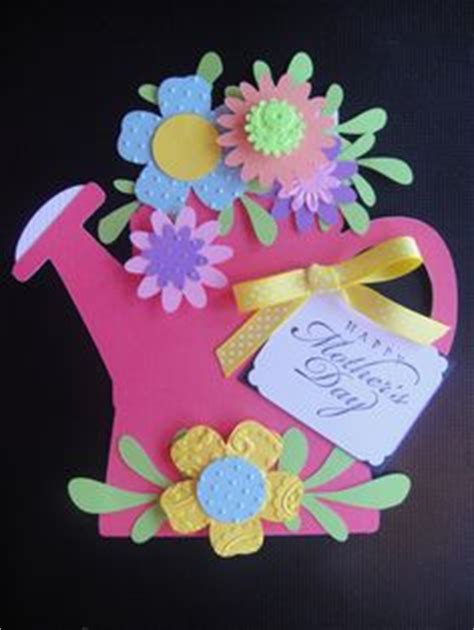 flower pot gift card holder template variation on flower pot card using watering can