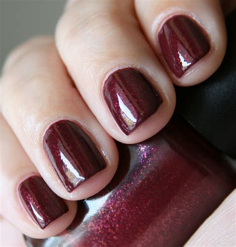 burgundy wine colored nails products i