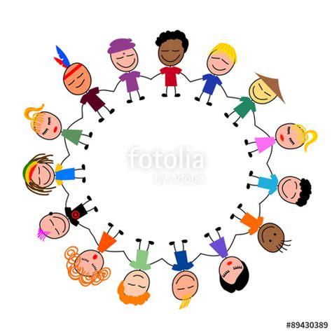 clipart amicizia quot girotondo amicizia comunit 224 pace quot immagini e