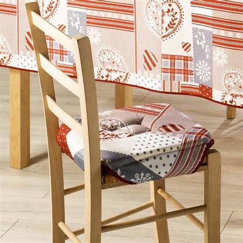 galettes de chaises déhoussables galette de chaise assise de chaise 35x35 cm doux cur