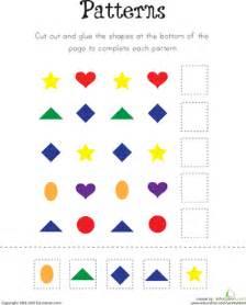 pattern practice worksheet education com