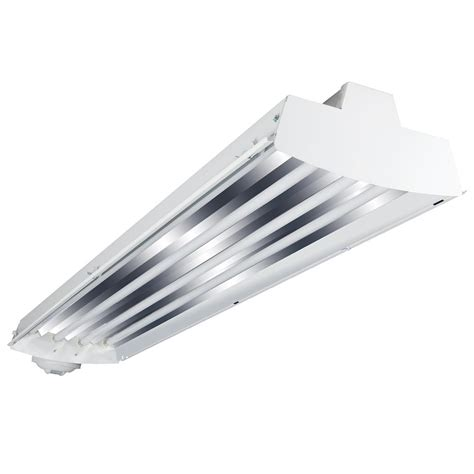 Metalux F Bay I8 Series 4 Ft 3 L White Fluorescent 3 Foot Fluorescent Light Fixture