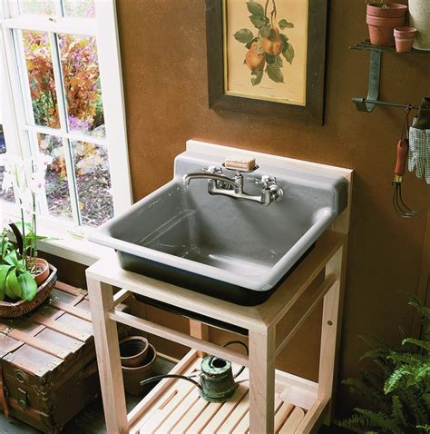 kohler bayview wood stand utility bayview utility in cashmere utility outdoor