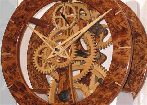 woodworking clock kits wooden clock 187 plansdownload