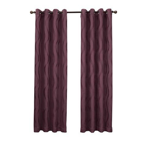 sun curtains sun zero gavin 95 in l blackout curtain panel in stone