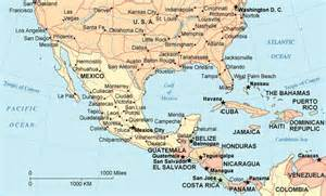 map of southern mexico northern guatemala illustration