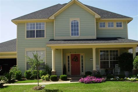 paint color schemes for house choosing exterior paint colors for homes theydesign net