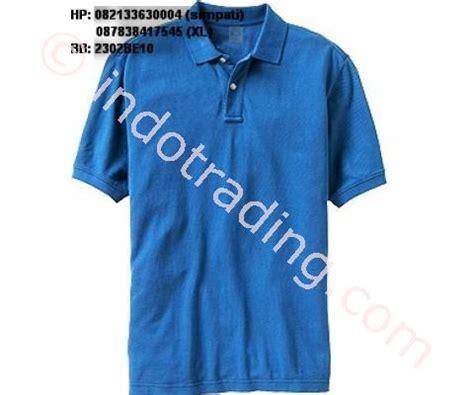 Kaos Oleh Oleh Bromo Biru jual kaos polo biru harga murah jakarta oleh toko kreasi putra mandiri