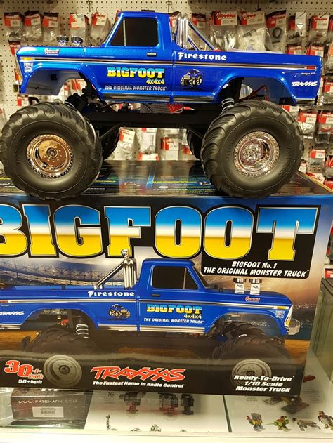 bigfoot 8 monster truck r c trucks crawlers and cars express hobbies inc