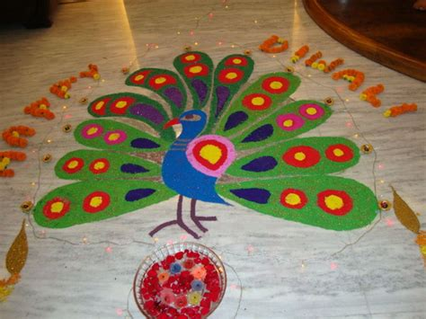 weeks peacock home designs rangoli for pongal calendar template site