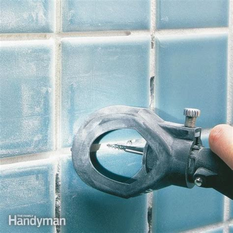 regrouting tiles in bathroom how to regrout bathroom tile fixing bathroom walls the