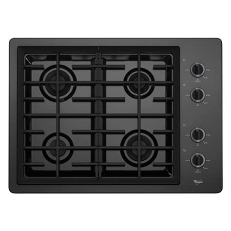 whirlpool gas cooktop 30 whirlpool w5cg3024xb 30 quot gas burner cooktop brandsmart usa