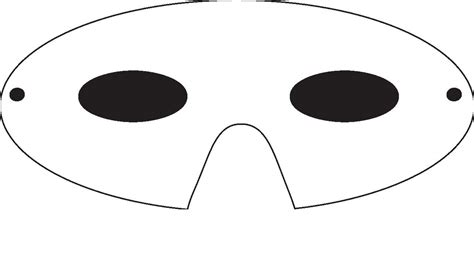 printable mask templates adults mask template free