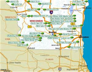 Wi State Parks Map by Wisconsin Campsites Wisconsin National Parks Wisconsin