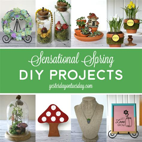 spring diy projects spring decor ideas