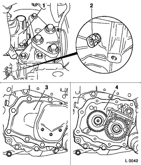 vauxhall workshop manuals corsa   clutch  transmission manual transmission front