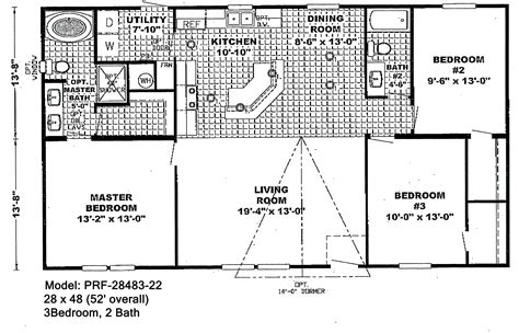 wide mobile home plan awesome beautiful