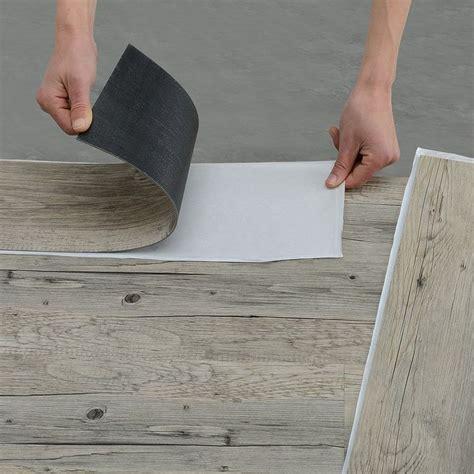 laminat shabby chic neu holz vinyl laminat 1m 178 selbstklebend eiche grau