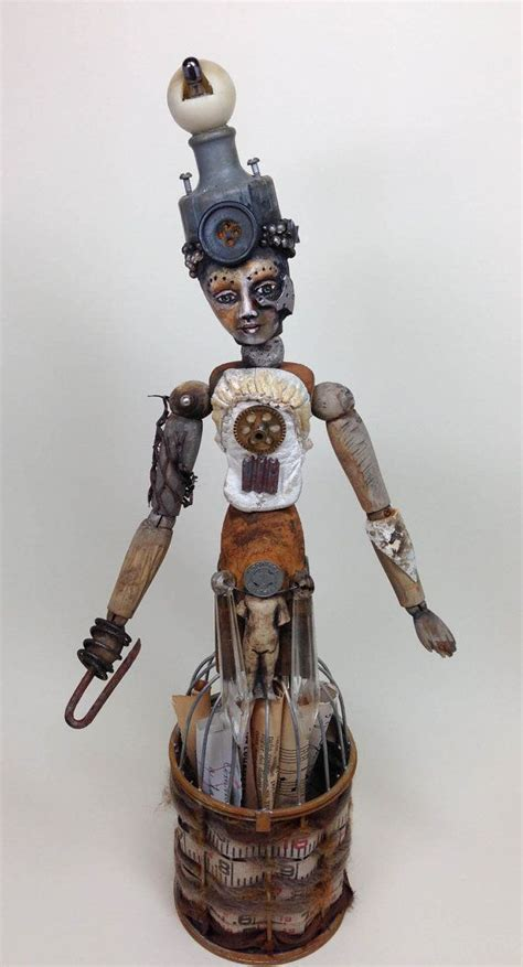 doll assemblage 271 best ideas about assemblage dolls on