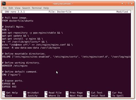 how to create docker images with a dockerfile cong nghe how to create docker container using dockerfile