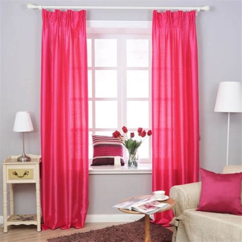 girls pink bedroom curtains rosa gardinen pink gardine blickdicht vorhangstoffe