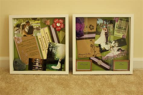 Wedding Shadow Box Ideas by Shadow Boxes A Snapshot Of Our Wedding