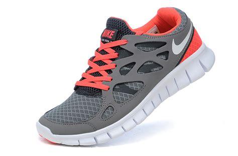 orange womens nike running shoes grey orange nike free run 2 s running shoes 60 00