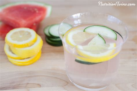 Watermelon Cucumber Detox Drink by Watermelon Cucumber Acv Detox Infusion Nutrition