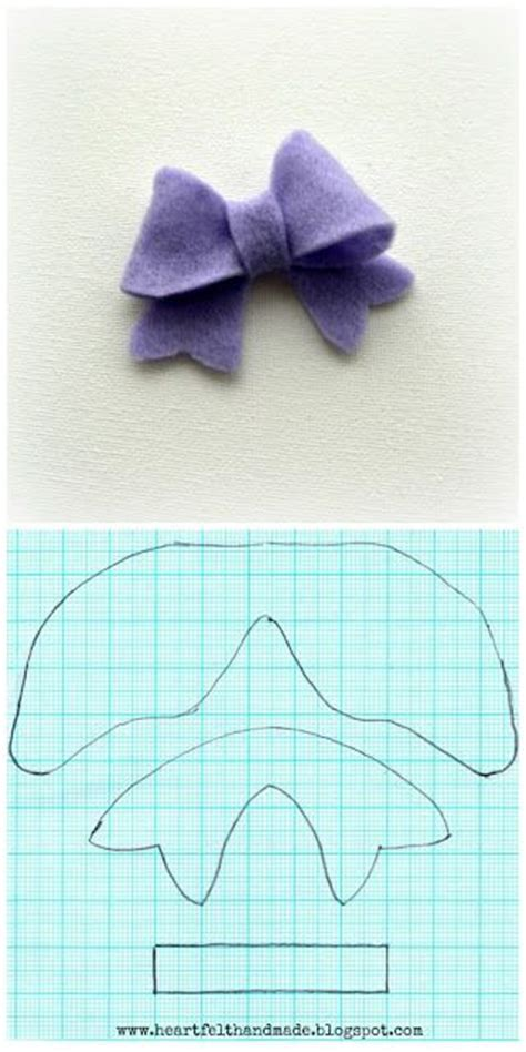 Felt Bow Tie Template by Best 25 Make A Bow Ideas On How To Make Bows