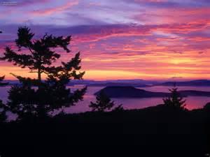 nice landscape nature landscapes nice red sky picture nr 23205