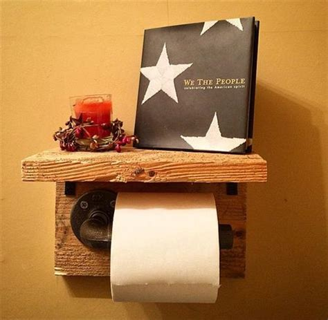 100 ideas to try about toilet paper holder shelves rustic pallet wood toilet paper roll holder pallets designs