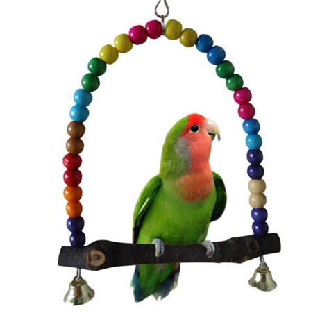 bird swings and toys colorful bird toy parrot swing cage toys for parakeet