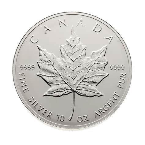 10 oz silver coin canada 1998 canada 10 oz silver 50 coin 10th anniversary