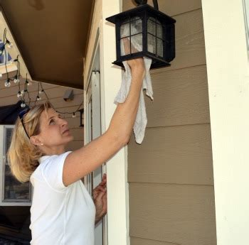 cleaning light fixtures clean your outdoor living spaces green