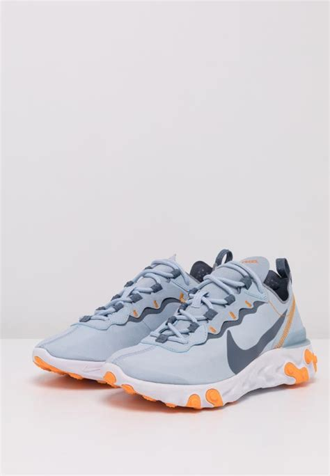 sneaker nike damen react  light armory bluewhite